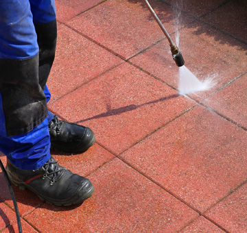 Driveways & Curbing Pressure Washing by Evergreen Law Care in Gainesville, FL