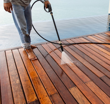Pool, Deck & Enclosure Pressure Washing by Evergreen Law Care in Gainesville, FL