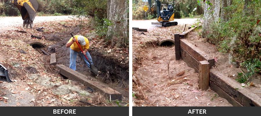 Retaining Wall Repairs In Gainesville Fl