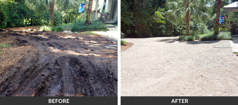 Recycled Concrete Amp Rock Driveways In Gainesville Fl