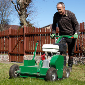 How can core aeration help your lawn?